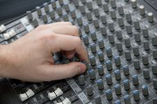 Free The Mixing Desk Stock Photo - 2937960