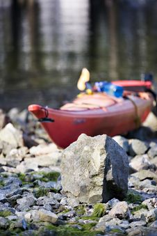 Free Marooned Kayak Stock Images - 2937974