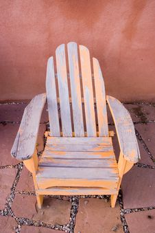 Free Old Beach Chair Stock Photo - 2938070