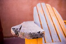 Free Old Armrest Stock Photography - 2938072
