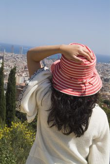 Free Over Looking The City Stock Photography - 2938302