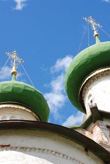 Free Green Onion Domes Stock Image - 2938771
