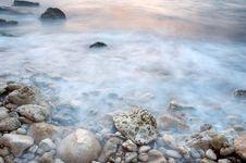 Free Sea Tide In Fog Stock Photo - 2939620