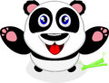 Free Happy Baby Panda Laughing Royalty Free Stock Photography - 29301397