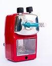 Free Red Pencil Sharpener Stock Photo - 29302170