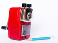 Free Red Pencil Sharpener Stock Image - 29302241