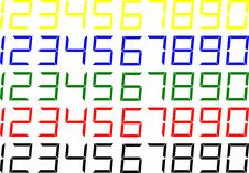 Free LCD Style Numbers Stock Photos - 29300503