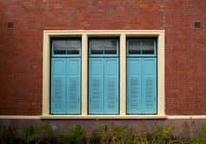 Free Wooden Windows Royalty Free Stock Photography - 29300557