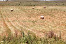 Free Haystacks After Harvest Stock Image - 29302511