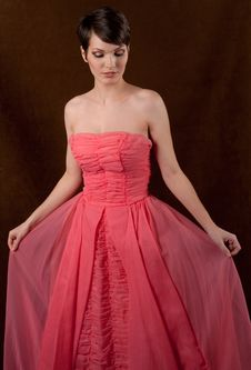 Free Admiring The Dress Stock Photography - 29307382