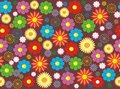 Free Flower Seamless Background Design Stock Image - 29318971