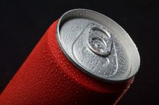 Free Close-up Of Wet Coca Can Stock Photo - 29310310
