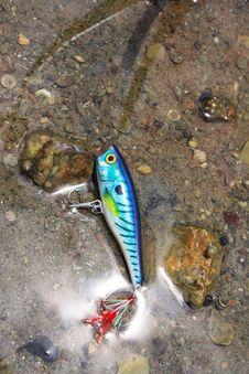 Lure Fishing. Stock Image