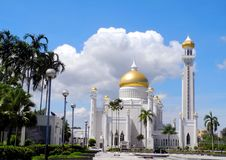 Free The Main Entrance Of SOAS Mosque, Brunei Stock Image - 29319541