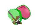 Free Green Heart Shaped Box Royalty Free Stock Photo - 29325315