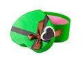 Free Green Heart Shaped Box Stock Photos - 29325423