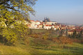 Free Old Prague From Surrounding Hills Royalty Free Stock Photography - 29327857