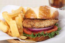Free Tenderloin Sandwich Royalty Free Stock Image - 29320226