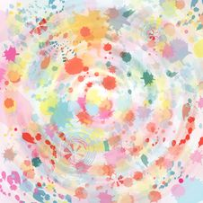 Free Watercolor Abstract Background Royalty Free Stock Image - 29325666