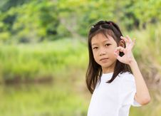 Free Portrait Of Asian Young Girl Stock Photo - 29325940