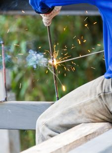 Free Welder Royalty Free Stock Photos - 29327198