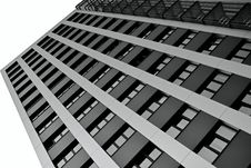 Free The Facade Of A Skyscraper Royalty Free Stock Photo - 29327305