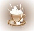 Free Milk Splashing Stock Images - 29331184