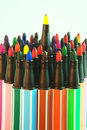 Free Water Color Pens Stock Image - 29331481