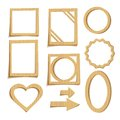 Free Cardboard Frames Royalty Free Stock Photos - 29337738