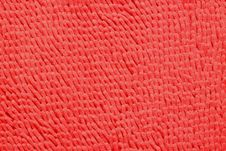Free Red Microfiber Bath Mat Royalty Free Stock Images - 29331969