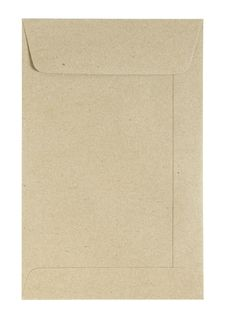 Free Brown Envelope Isolated Stock Photo - 29334770