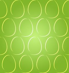 Free Easter Eggs Shadow Green Seamless Royalty Free Stock Photo - 29334815