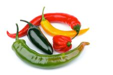 Free Chili Peppers Stock Photography - 29334832