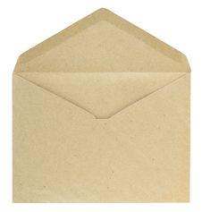 Free Blank Envelope Royalty Free Stock Photos - 29334838