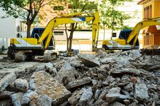 Free Site Demolition Stock Photo - 29335000