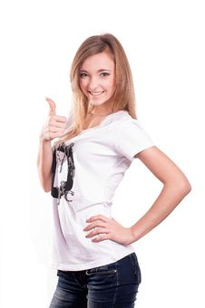 Free Beautiful Teen Girl Stock Image - 29335641