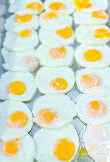 Preparation Served Is Fried Egg Royalty Free Stock Photography
