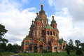 Free Cathedral Of Saints Peter And Paul Church In Peterhof Stock Photo - 29342690