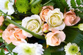 Free Bouquet Of Roses And Chrysanthemums Royalty Free Stock Images - 29345839