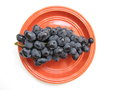 Free Ripe Black Grapes Royalty Free Stock Images - 29349049