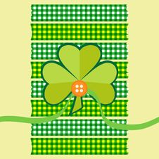 Free Clover Card Scrapbook Style Royalty Free Stock Photos - 29340398