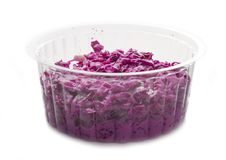 Free Red Cabbage Salad Stock Image - 29340981