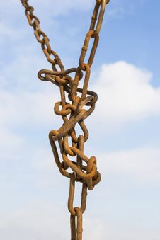 Free Rusty Chain Stock Photo - 29344120