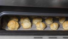 Free Rolls In An Oven. Stock Image - 29344751