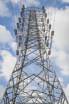 Free High-voltage Tower Stock Image - 29345631