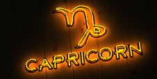 Free Capricorn Zodiac Sign Stock Images - 29349674