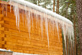 Free Row Of Icicles Royalty Free Stock Photo - 29353215