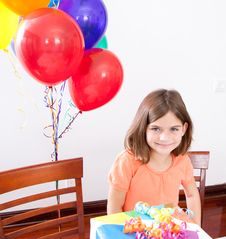 Free Birthday Girl Stock Photography - 29352542