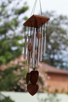 Free Wind Chimes Stock Image - 29356021