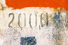 Free Old Paint On The Wall Royalty Free Stock Image - 29356946